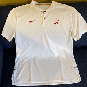Brand new Nike university of Alabama coaches shirt